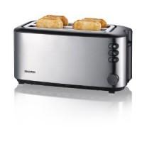 Langschlitztoaster - Toaster für 4 Scheiben Toast
