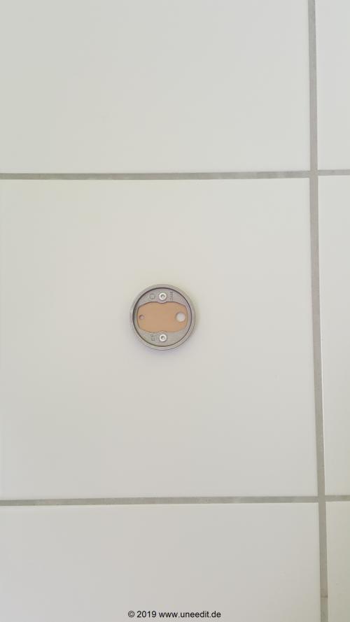 Nie Wieder Bohren luup sockel adapter fixiert